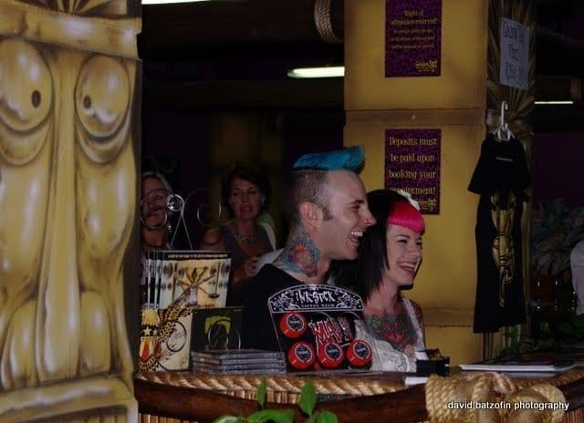 Golden Tiki Tattoo Parlour launch...it rocked!