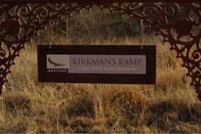 Our adventure comes to an end...our final bush walk from Kirkman's Kamp