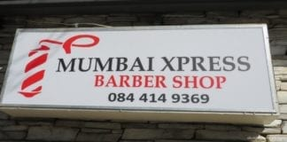 The Mumbai Xpress Barber shop...Experience India in the heart of Parkhurst