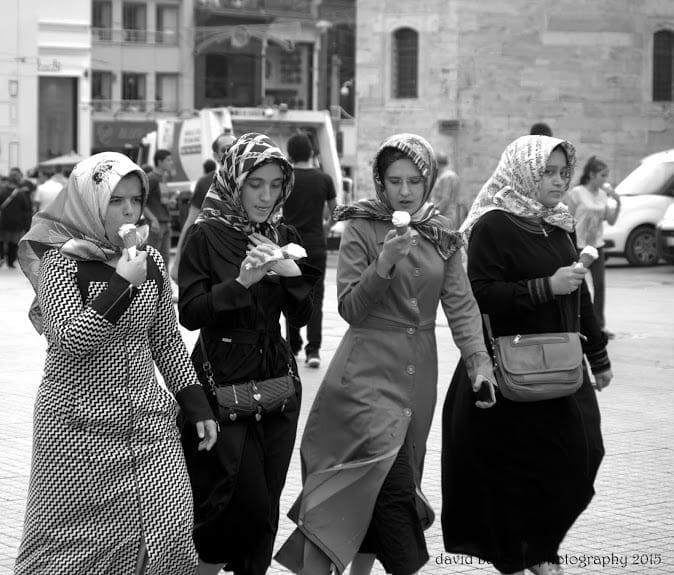 Through my lens. Istanbul in B&W